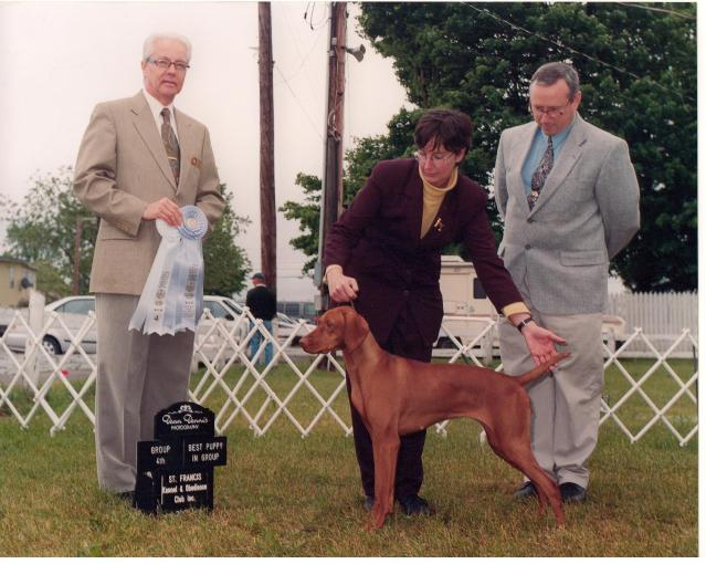 """best puppy in group"" 2000"